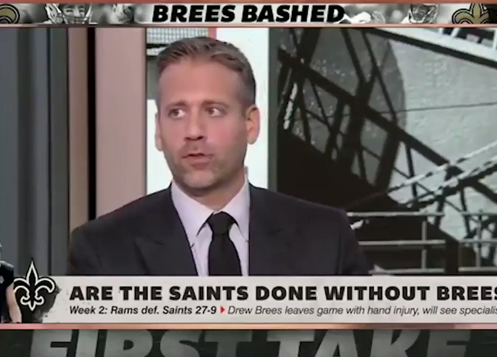 The Saints' Tweet About ESPN's Stephen A. Smith Is Going Viral