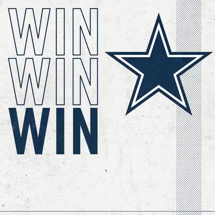 Staying 🔛🔝 of the NFC East. @WinStarWorld   #PHIvsDAL   #DallasCowboys