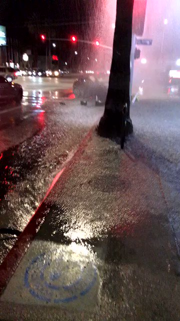 Canoga Park car crash injures 9 and triggers flood of WSS shoe store