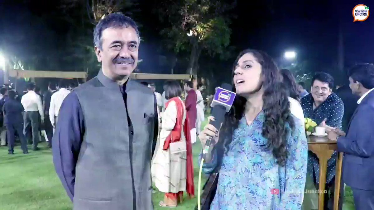"""""""One thing PM @narendramodi said was that us creative artists dont understand our own potential."""" Director @RajkumarHirani reflects on an event commemorating #Gandhi150 in which short videos were released.   NIJ's @priyankadeo reports from 7, Lok Kalyan Marg.   #ChangeWithin"""