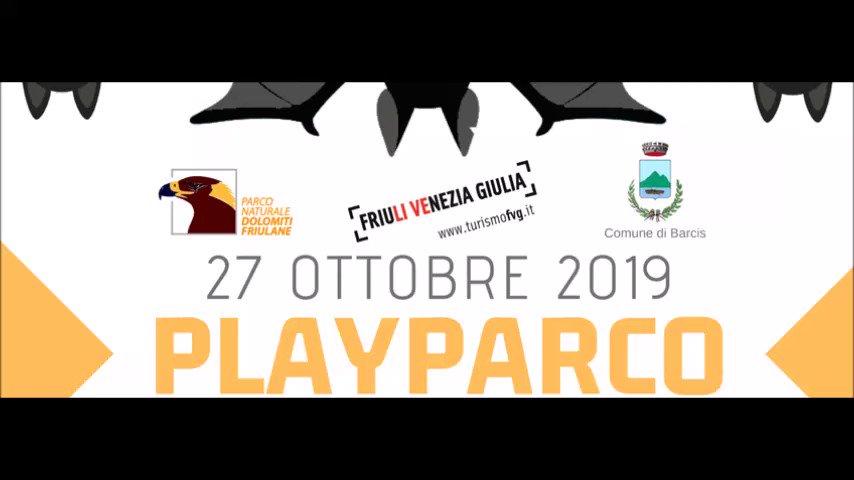 #PlayParco la decima edizione a Barcis il 27 ottob...