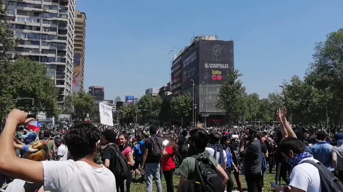Violent Protests Continue In Chile As Government Imposes New Curfew