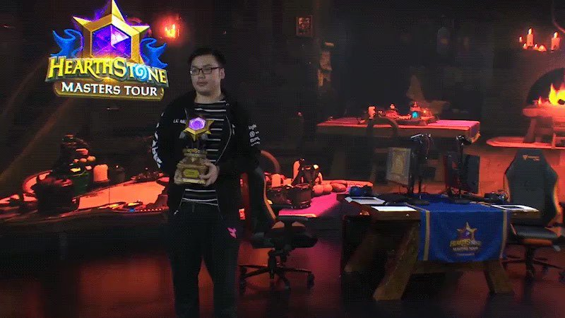Blizzard had their Hearthstone finals and the trophy was so badly made it broke in the winners hand. This is too perfect hahahahaha