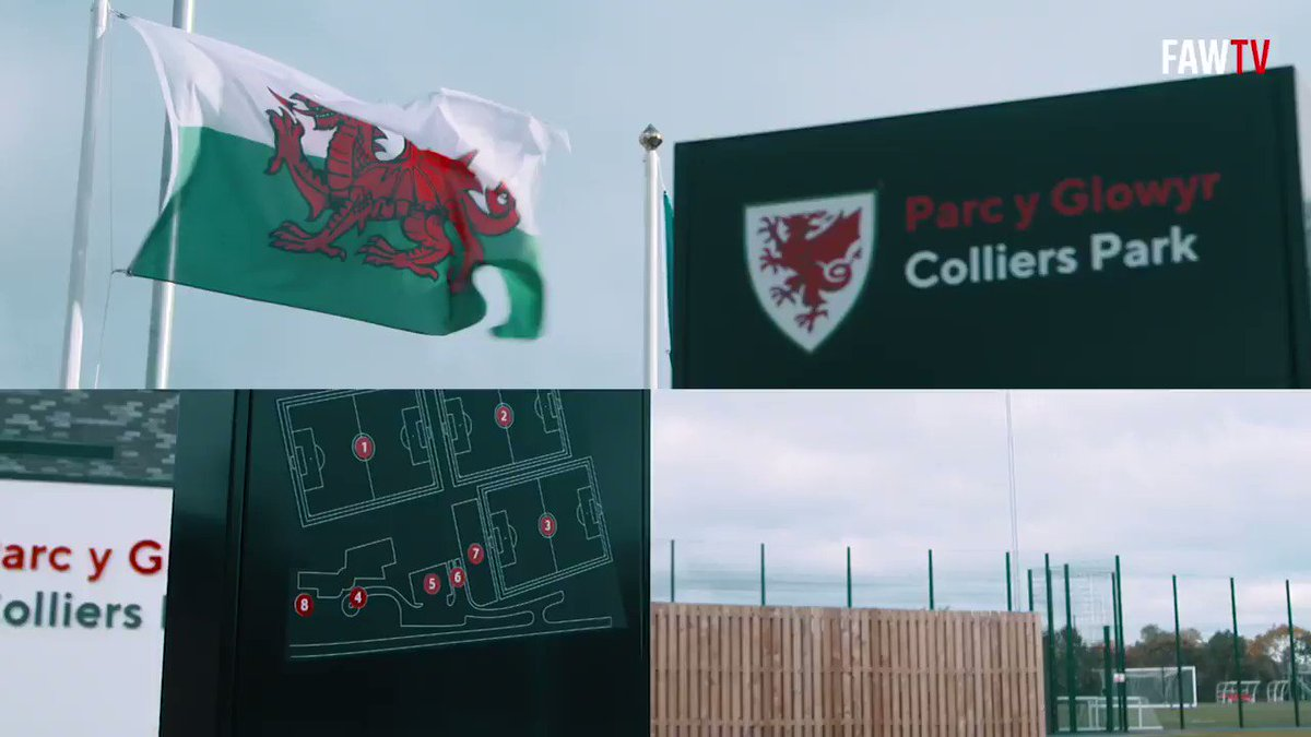 Diolch am y croeso, Wrecsam 🙌 A great day at Colliers Park where @AllSaintsCIW & @YsgMorganLlwyd pupils were inspired by Jayne Ludlow, @RazzaRoberts & @elise__hughes. #BeFootball | #TogetherStronger