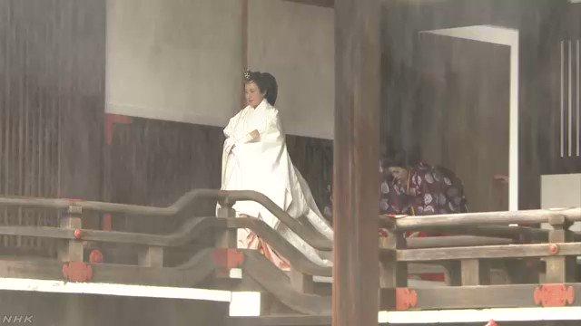 天皇皇后両陛下 宮中三殿で儀式#nhk_news #nhk_video