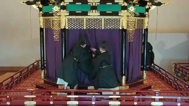 「即位礼正殿の儀」始まる#nhk_news #nhk_video