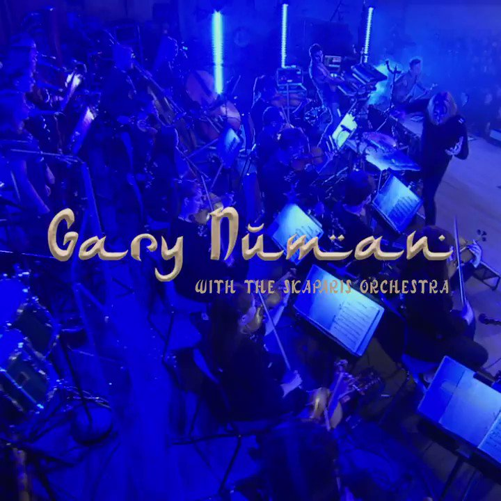 Pleased to announce that my live show at The Bridgewater Hall in Manchester with the Skaparis Orchestra will be out as a Deluxe Edition on 13th Dec. It includes 2 x CDs and a DVD of the performance. Pre-order from my store and download 'Ghost Nation' now: https://GaryNuman.lnk.to/LiveTW