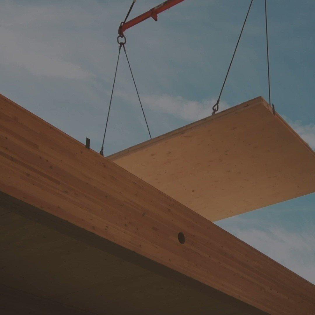 Image for the Tweet beginning: Meet #masstimber: a building material