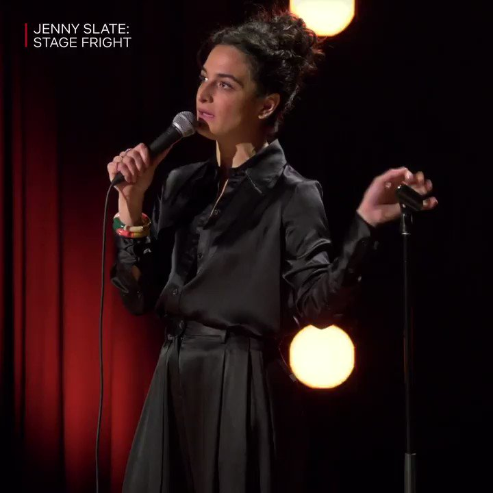 Jenny Slate has a good Tom Brady and Gronk bit in her Netflix special