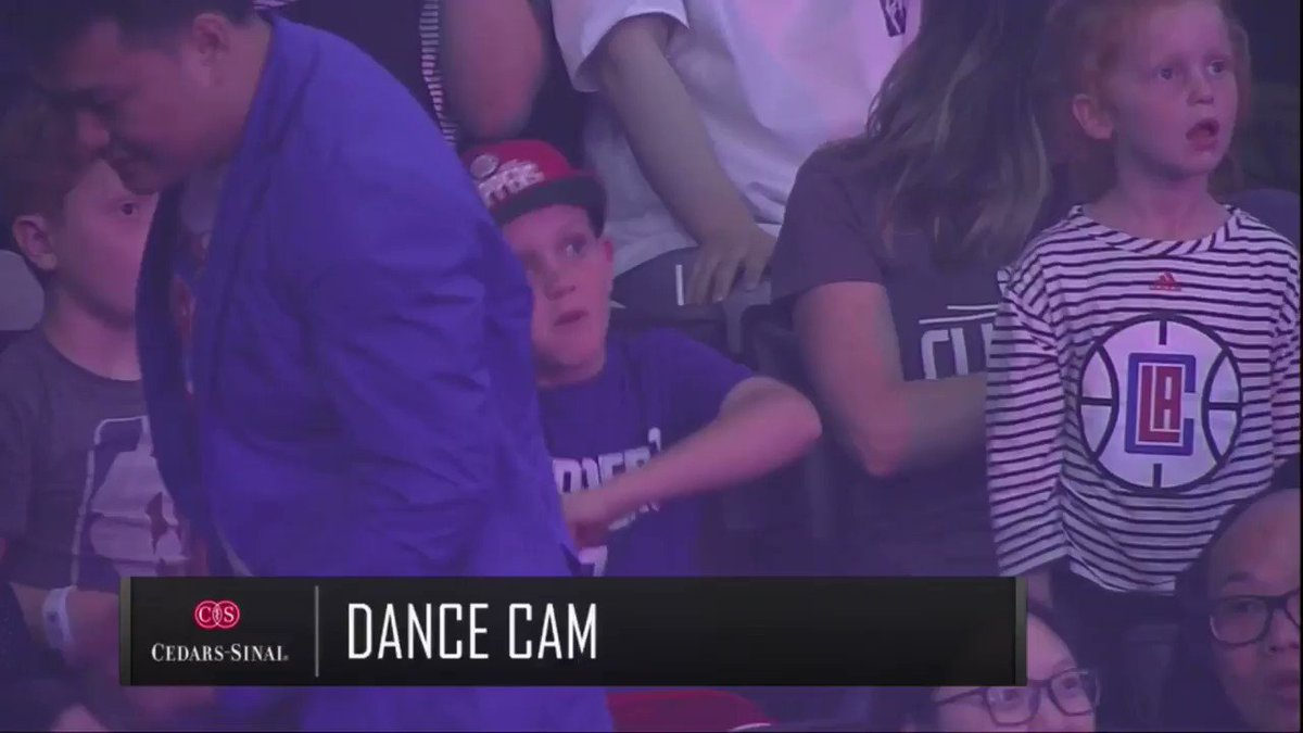Clippers pan away from fan's 'Stand with Hong Kong' shirt in Dance Cam