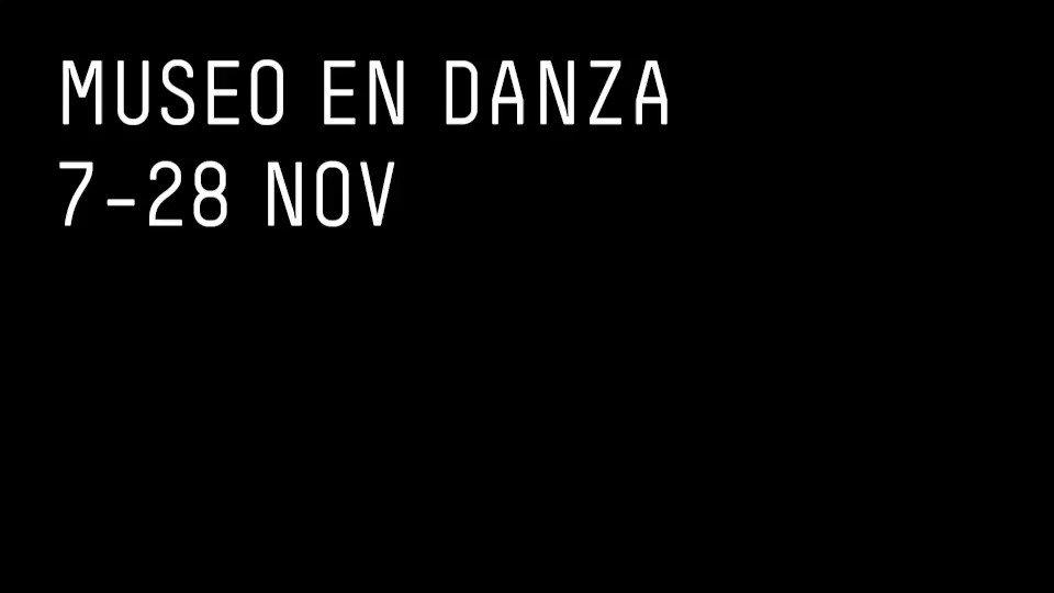 Image for the Tweet beginning: Museo en danza, ciclo dedicado