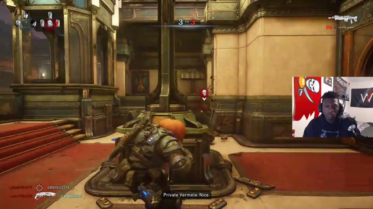 Just doing quick 1,2,3 to close the round out. #Gears5 #Pumpkinball #twitchclips @EsportsGears @GearsCIips @ReanimatedGG don't forget to give me a follow on twitch @