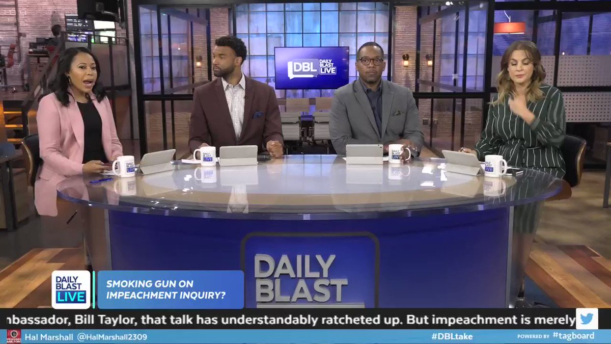 DEVELOPING: Republicans stormed a closed-door meeting on the impeachment inquiry. Our hosts discuss the latest.  Full Discussion:  #DBLtake #POTUS #PresidentTrump #Impeach #MAGA