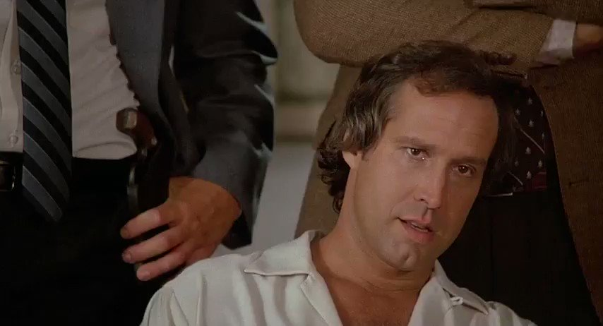 Whenever you respond to someone with the perfect Fletch quote and don't get a reaction: