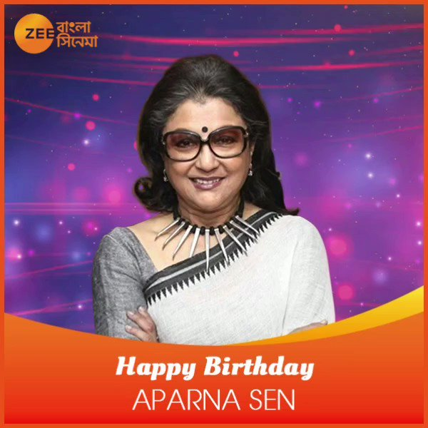 wishes Aparna Sen a very happy birthday!