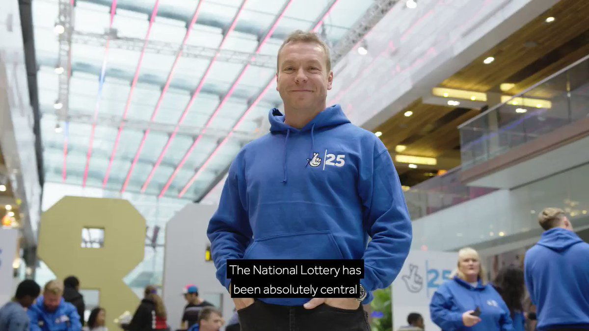 Watch as 25 Olympians and Paralympians including descend on @westfieldstrat to celebrate the 5,000 elite athletes that have been supported by National Lottery funding 🥇🥈🥉 #NationalLottery25