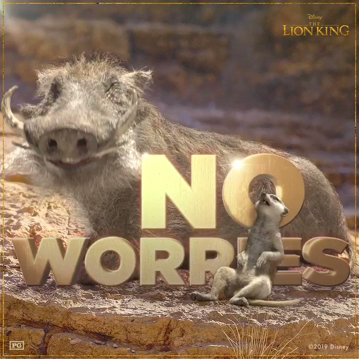 #HakunaMatata Its a problem free philosophy. Bring home #TheLionKing on Digital & Blu-ray today: di.sn/6000ECcxA
