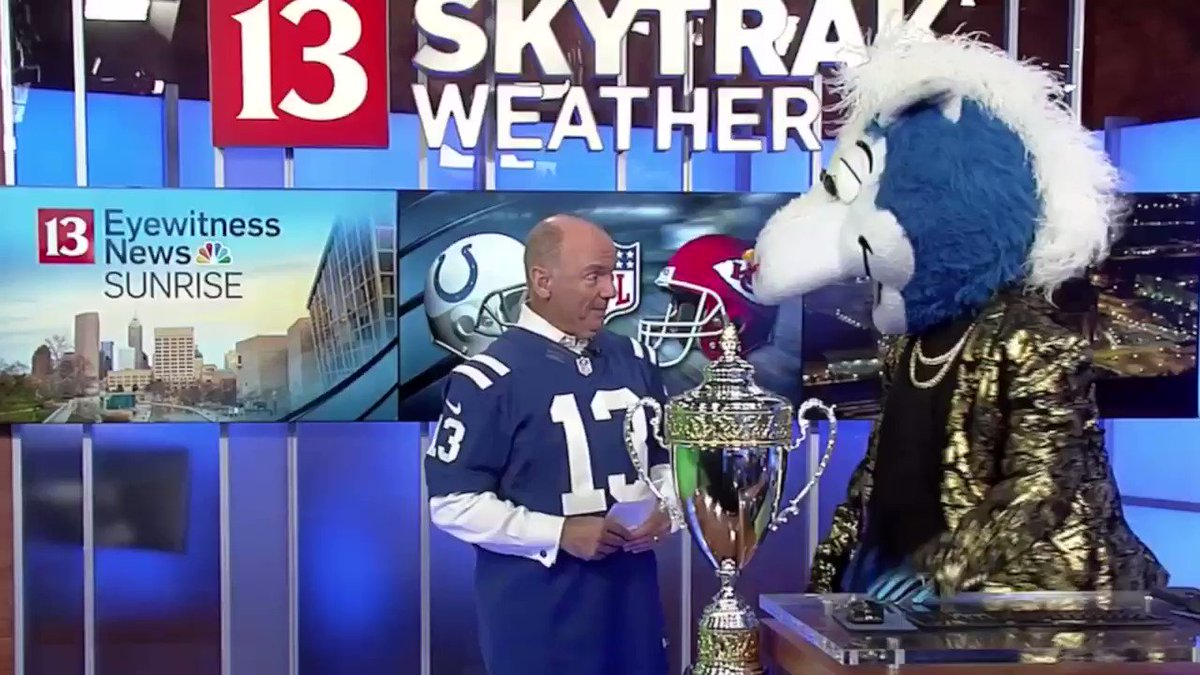 Thanks to @ChuckWTHR for the support!!! VOTING ENDS TOMORROW mascothalloffame.com/thevote