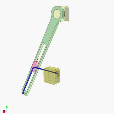 Cable Mechanism for Drawing Hyperbola