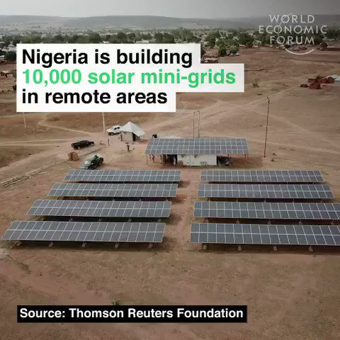 #Nigeria is investing $20 billion in #renewables. They are building 10,000 #solar mini-grids to bring power to homes, schools, and hospitals. We have solutions to the #climate crisis, time to implement them. #ActOnClimate #climate #energy #cdnpoli #bcpoli