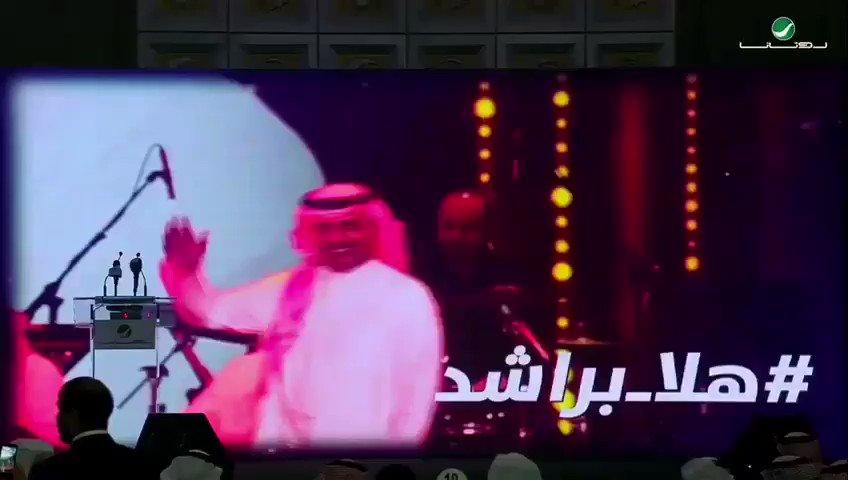 شاهدوا على قناة #روتانا يوتيوب 🎬 عرض لحفل توقيع السندباد #راشد_الماجد مع شركة #روتانا_للصوتيات برعاية صاحب السمو الملكي الأمير @Alwaleed_Talal  ومعالي المستشار @Turki_alalshikh #هلا_براشد @RashedTV @salhendi