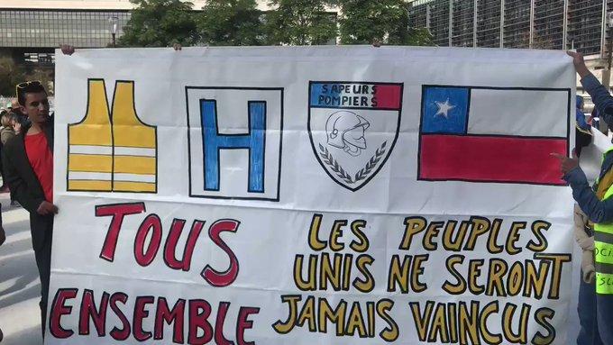 Gilets jaunes, acte 50 : appel national à Saint-Etienne et manifestation avec les Chiliens à Paris 4357qwV3LhoSUchA?format=jpg&name=small