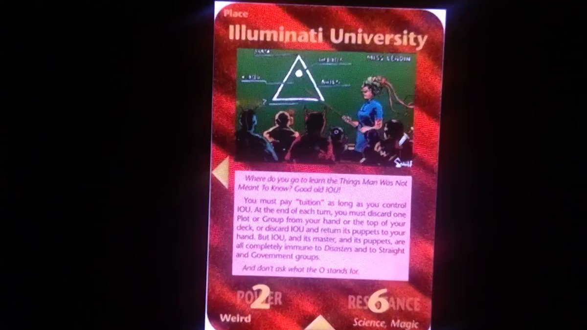Educate yourself with the Illuminati song. Enjoy!