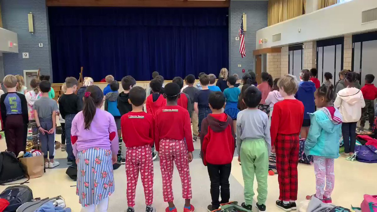 ATS 2nd graders singing TAKE ME OUT TO THE BALLGAME to support our Nats during our Friday morning pledge, moment of silence and patriot song. Do you see the Nats pjs?  😁<a target='_blank' href='http://twitter.com/APS_ATS'>@APS_ATS</a> <a target='_blank' href='http://twitter.com/Nationals'>@Nationals</a> <a target='_blank' href='https://t.co/z3Dqwg5fwl'>https://t.co/z3Dqwg5fwl</a>