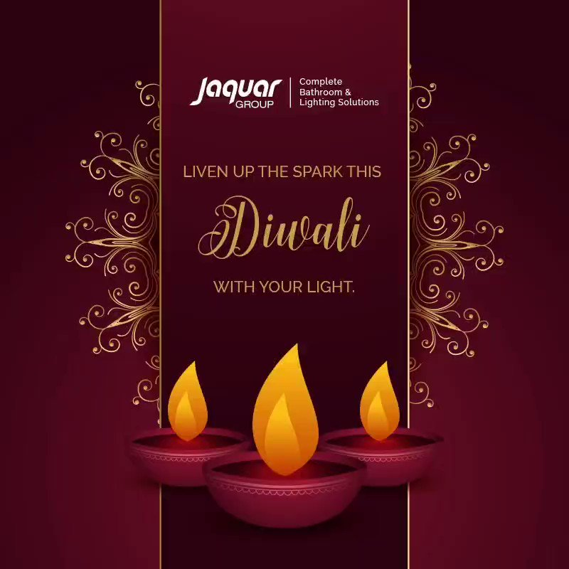 Jaquar Group wishes you a bright, prosperous and safe Diwali Liven up the spark of Diwali with us JaquarGroup https t