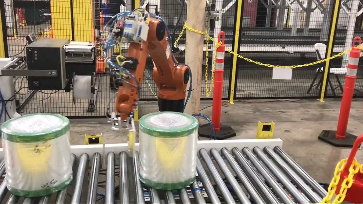 Image for the Tweet beginning: Robotic Roll Labeling: We have