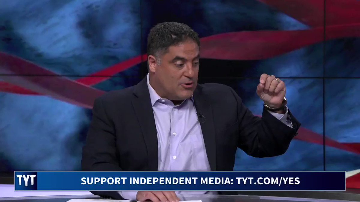 When you equate their chant about Hillary Clinton to the chant about Donald Trump, what you do is you wash away his crimes. By pretending hes done nothing wrong, @cenkuygur responds to the Democrats who criticized World Series attendees booing @realDonaldTrump