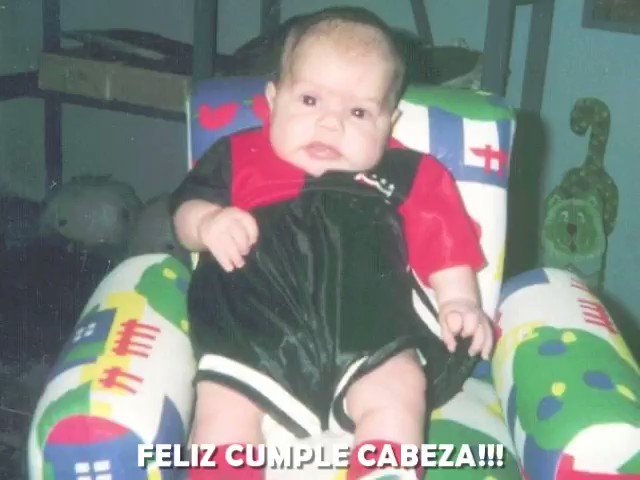 FELIZ CUMPLE CABEZA!!! #MiOrgullo #MiMotor #MiLegado #SemperFI 🤙 @SandromaronnaOk