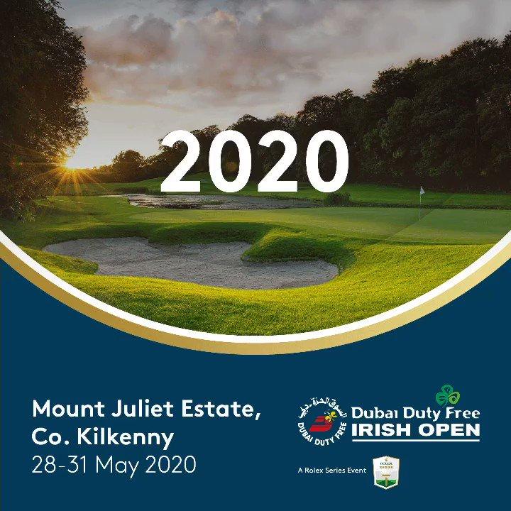 It's official 🙌🏼 @mountjuliet #DDFIrishOpen 🎫 Get your 2020 tickets now: et.golf/DDFIrishOpen20…
