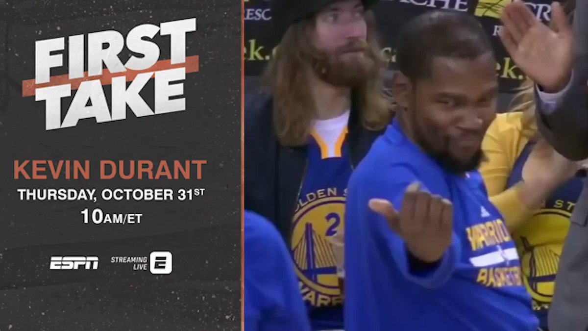 .@KDTrey5. Thursday. This is going to be fun.