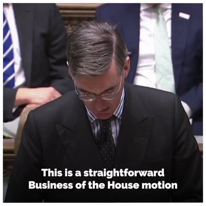 🗣️ At the despatch box, the Leader of the House of Commons set out a Business of the House motion for the Early Parliamentary General Election Bill. 👇 @Jacob_Rees_Mogg | @HouseofCommons