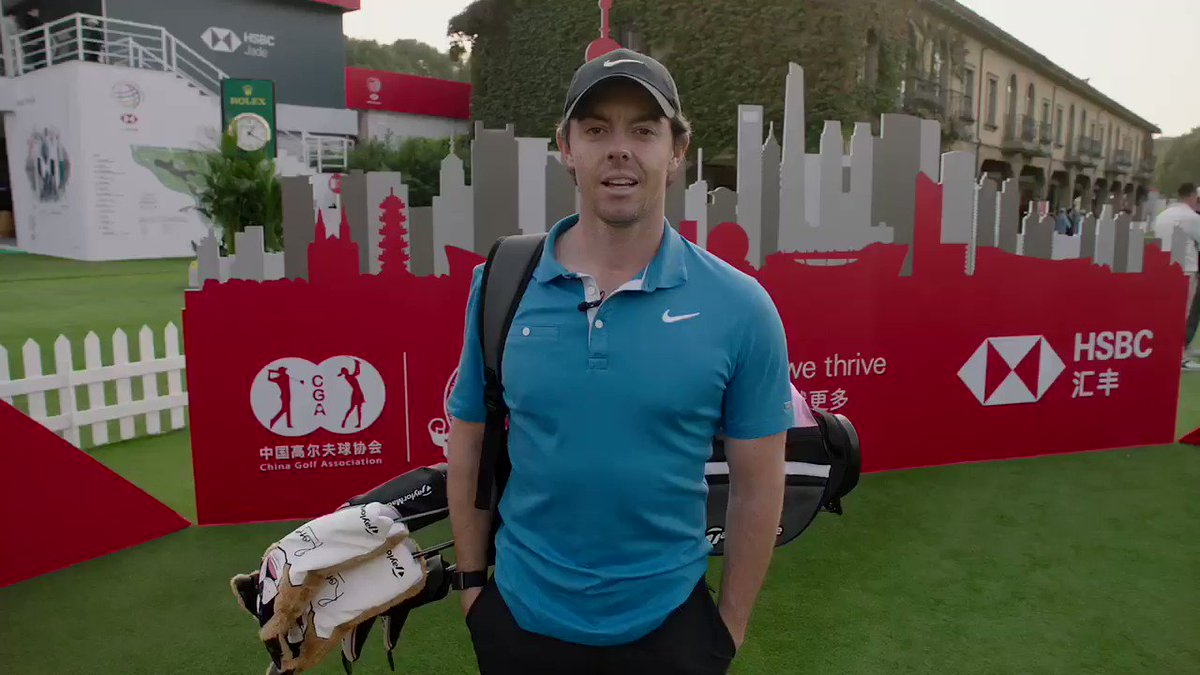 I am giving away 4 of my @TaylorMadeGolf Rory Junior Sets. All you have to do is retweet this video to enter! @HSBC_Sport