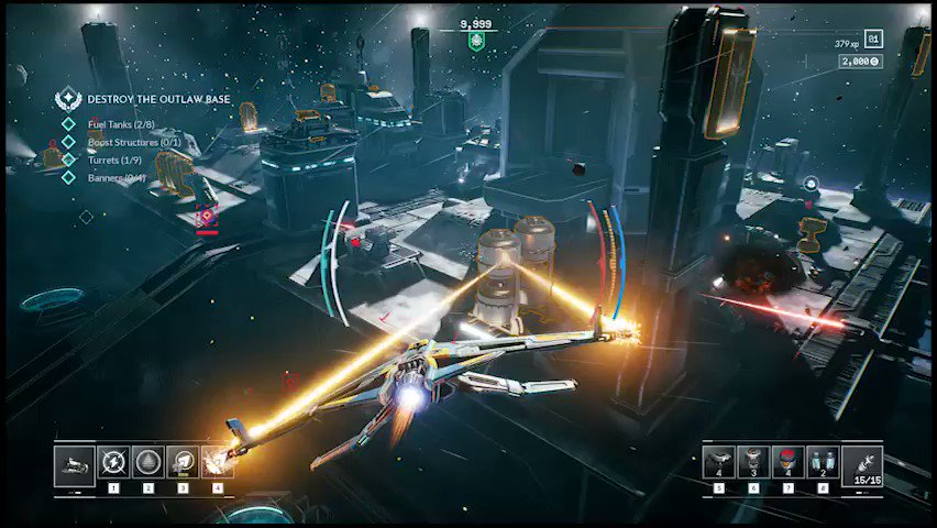 🔴LIVE: #Everspace2 #gamedev stream about #leveldesign & modular #space stations + a little #halloween surprise on http://twitch.tv/rockfishgames ! 👽🚀#indiedev #scifi #indiegame #AmA #UE4 @TwitchSharing