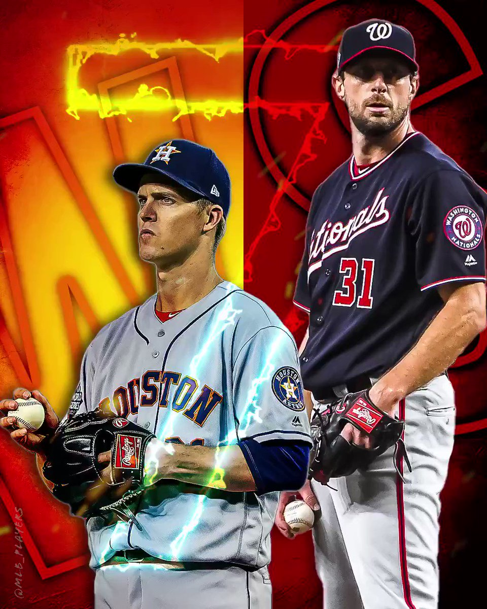 It all comes down to this! A #WorldSeries Champion will be crowned. @Max_Scherzer vs #ZackGreinke GAME 7 TONIGHT🔥 #OctoberReady