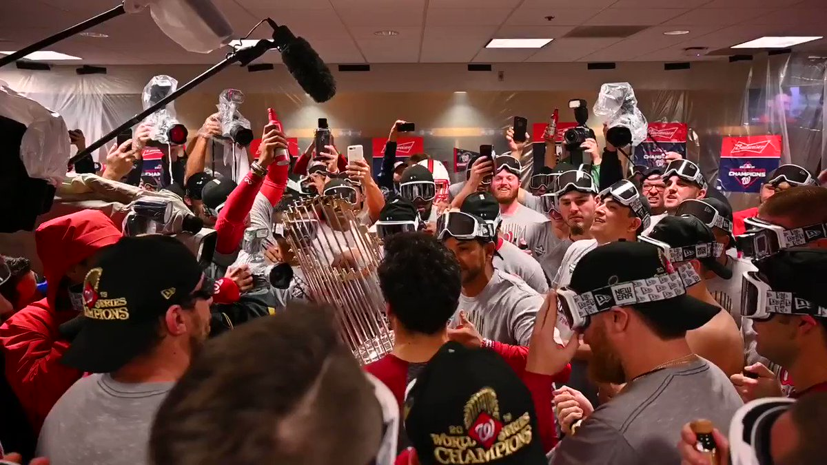 Sean Doolittle on baseball's unwritten rules, including proper champagne-spraying etiquette