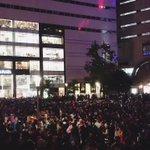 ハロウィン渋谷に負けじと福岡の警固公園もすごい人!