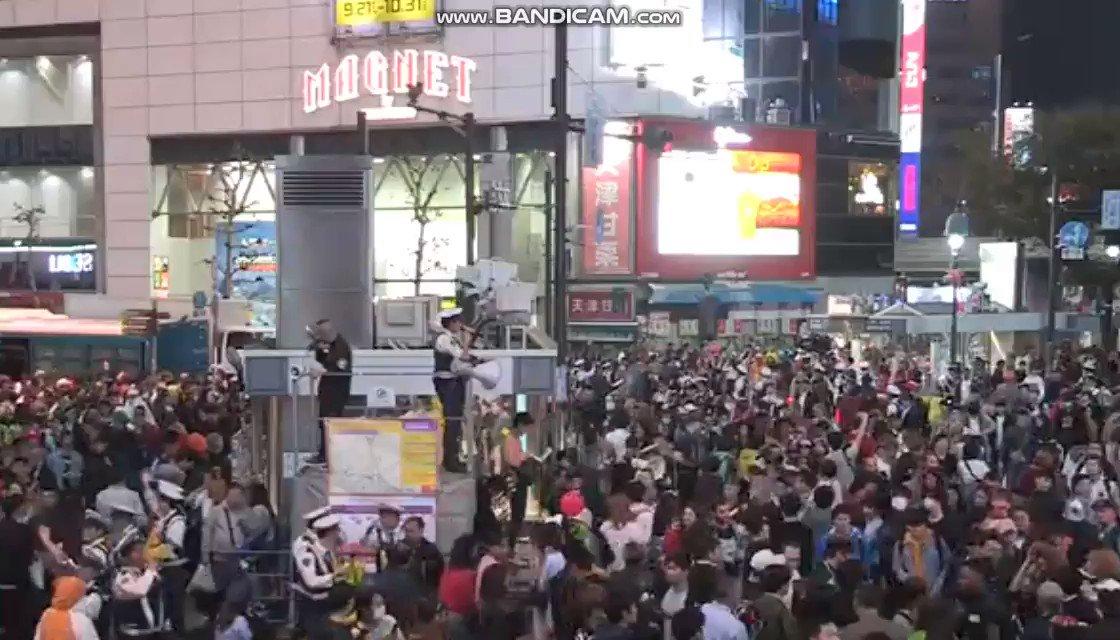 ハロウインの渋谷、厳戒態勢でみんな大人しくなっちゃってる!?  #ハロウイン #渋谷ハロウィン  #渋谷ハロウィーン  #渋谷  #祭り #ハロウイン2019 #フォロバ100
