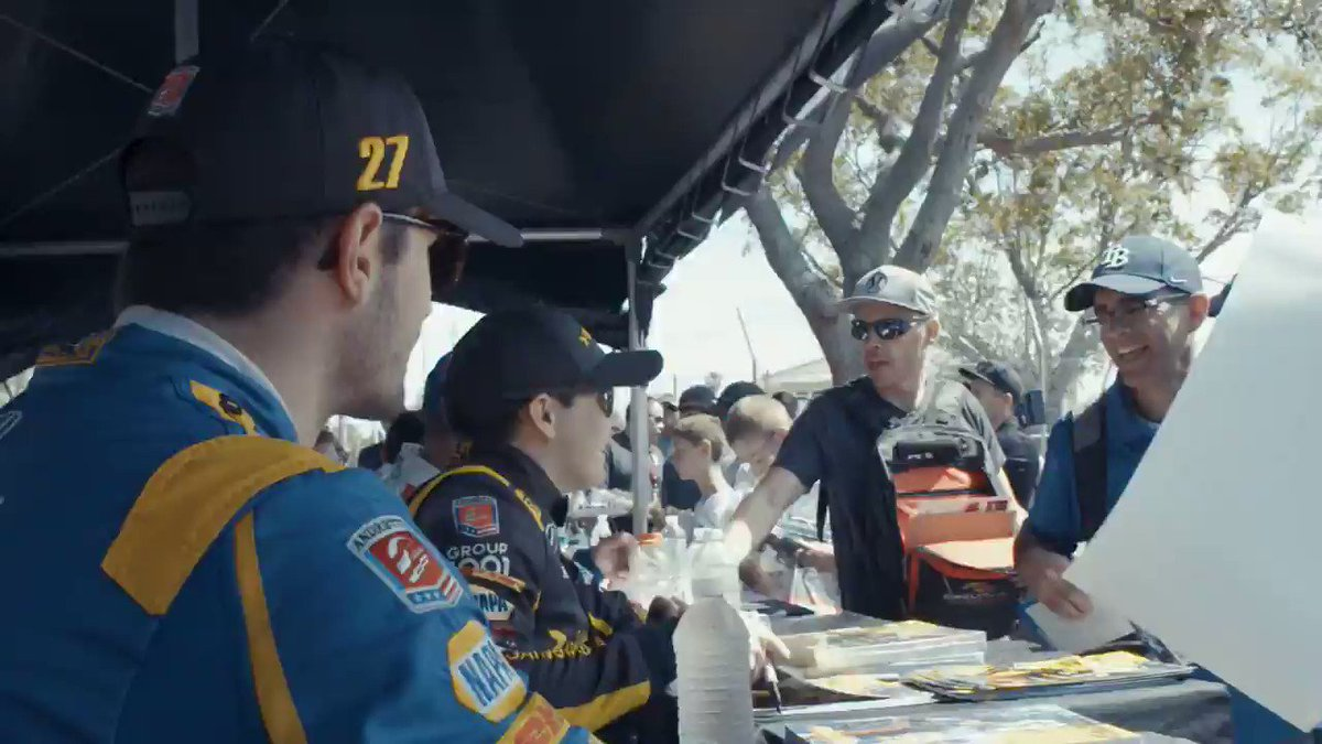 This is what happen's when @indycar drivers go trick-or-treating…😂 🎥: Catalyst 317 #AllAndretti #Halloween #IndyCar @alexanderrossi