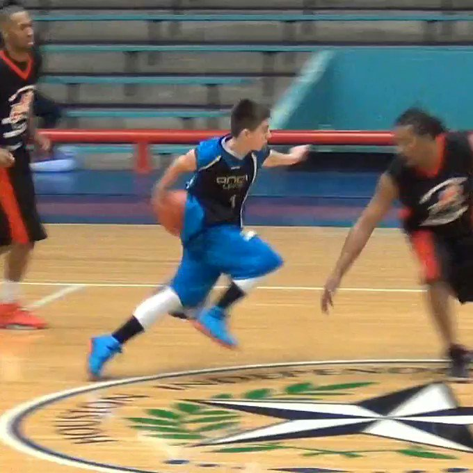 When a young @JordanMcCabe5 showed out in a game with several streetball legends. @HWSarge30 with the finish. #hoopmixtape