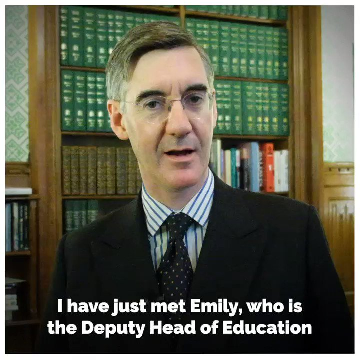 🎥 The Leader of the House met with Emily, Deputy Head of Education and Engagement at the House of Commons, to learn about the work they are doing to make Parliament more accessible and ensure UK Parliament Week is a success. 👇 @HouseofCommons | @Jacob_Rees_Mogg