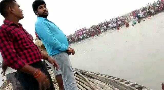 आज बिहार के लोक आस्था का पर्व छठ पूजा के दूसरे दिन संध्या अग्र के समय घाटों का ध्यान रखते हुए @rsprasad @adishanks @Ramlal