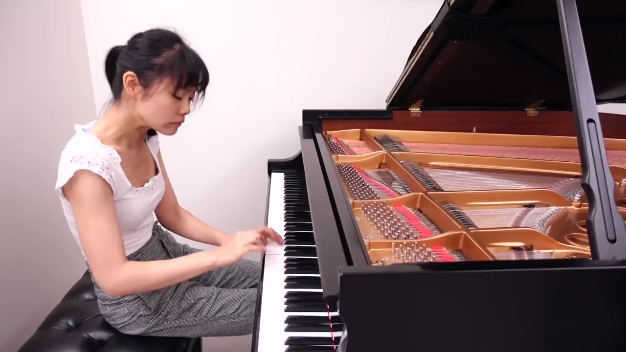 "@Tiffanypianist. Poon, featured in this video performing Scarlatti Sonata in C Major, K.159, will give you a behind-the-scenes look inside ""The Vault"" — showcasing Steinway's most exclusive pianos. instagram.com/steinwayandson…"