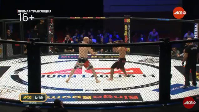Video: Brutal spinning backfist knockout results in an all-time faceplant
