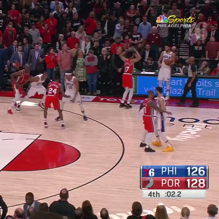 E assim ficamos sabendo que os Sixers iriam para as finais da NBA. #PhilaUnite