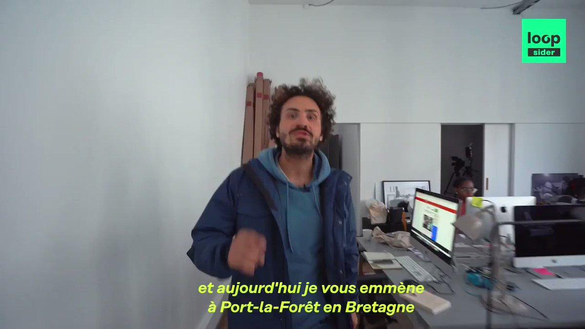 Nouvelle vidéo @Loopsidernews !  @MonMalDeMer et moi sommes allés faire un tour de bateau qui vole avec @FrancoisGabart , avant le départ de la #Brestatlantiques !  ⛵️🌎🌊🤢   >https://t.co/A6uBC55Ipg< https://t.co/dwFka63bHK