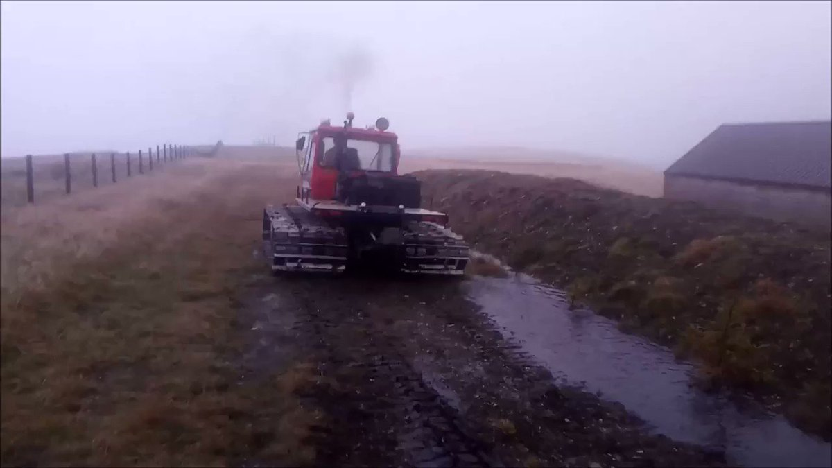 Thank you very much everybody. We have successfully crowdfunded a snow groomer for the ski clubs facilities on Lowther Hill. Here it is: skiclub.lowtherhills.com/news/191-south…